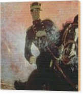 Albert I King Of The Belgians In The First World War Wood Print by Ilya Efimovich Repin