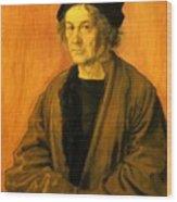 Albrecht Durer Father 1497 Wood Print