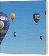 Albuquerque Balloon Festival 4 Wood Print