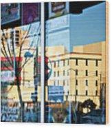 Albuquerque Reflections Wood Print