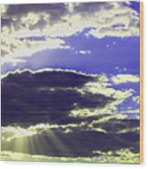 Albuquerque Sky Wood Print