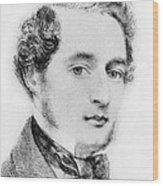 Alcalde Francisco De Haro Wood Print