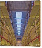 Alcatraz Federal Penitentiary Wood Print