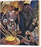 Alchemist 1912 Wood Print