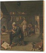 Alchemist Wood Print