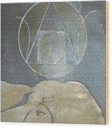Alchemy's Golden Girl Wood Print