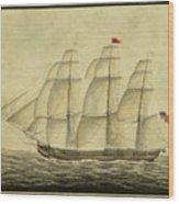 Alcono Sailing Vessel Wood Print