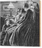 Alcott: Little Women Wood Print
