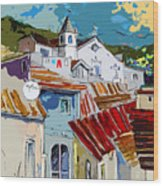 Alcoutim In Portugal 08 Bis Wood Print