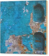 Alcoves In A Wall Wood Print