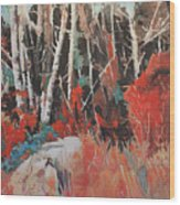 Alder Grove 3024 Wood Print
