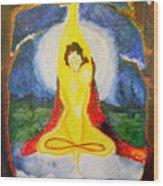 Alder Meditation Wood Print