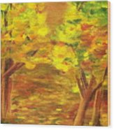 Aldergrove Lake Park Wood Print