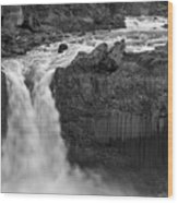 Aldeyjarfoss Waterfall Iceland 3353 Wood Print