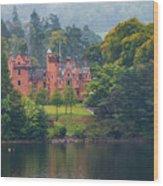 Aldourie Castle  Wood Print
