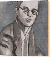 Aldous Huxley Wood Print