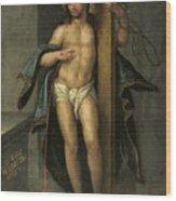Alegoria De La Redencion De Cristo Wood Print