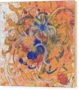 Alegria Wood Print
