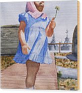 Alene June 14 1949 Wood Print