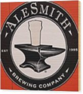 Alesmith Sign, Newport R. I. Wood Print