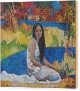 Alesya Wood Print