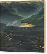 Aleutian Dip Wood Print