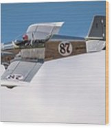 Alex Alverez Friday Morning At Reno Air Race Signature Edition 16x9 Aspect Wood Print