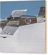 Alex Alverez Friday Morning At Reno Air Races 16x9 Aspect Wood Print