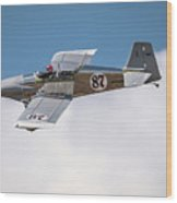 Alex Alverez Friday Morning At Reno Air Races 5x7 Aspect Wood Print