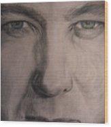 Alex Jones Wood Print