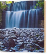 Alexahucen Creek  Wood Print