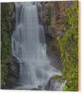 Alexander Falls Wood Print