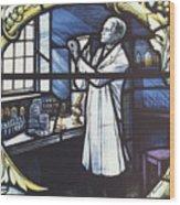 Alexander Fleming, Scottish Biologist Wood Print