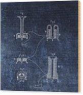 Alexander Graham Bell's Telephone Wood Print