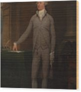 Alexander Hamilton Full-length Portrait Wood Print