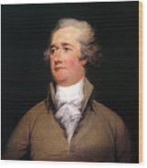 Alexander Hamilton Wood Print by Granger