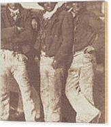Alexander Rutherford, William Ramsay And John Linton Wood Print