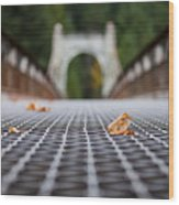 Alexandra Bridge Wood Print