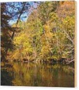 Alexandria Creek In The Fall Wood Print