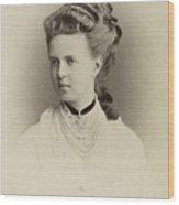 Alexandrovna Romanova Of Russia Wood Print
