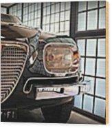 Alfa Romeo In Black Wood Print