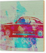 Alfa Romeo  Watercolor 2 Wood Print