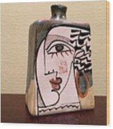 Alfajar Vase Wood Print