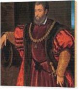 Alfonso D Este Wood Print
