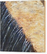 Alfred Caldwell Lily Pool Waterfall Wood Print