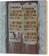 Alfredo, Alfredo Wood Print