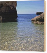 Algarve I Wood Print