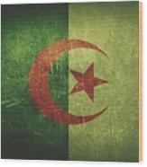 Algeria Distressed Flag Dehner Wood Print
