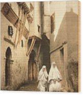 Algeria: Street Scene, C1899 Wood Print