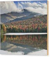 Algonquin Peak From Heart Lake - Adirondack Park - New York Wood Print